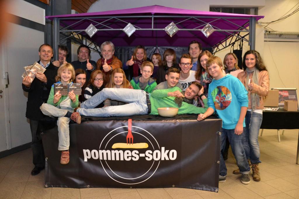Pommes-Team 2014; Foto: DZ