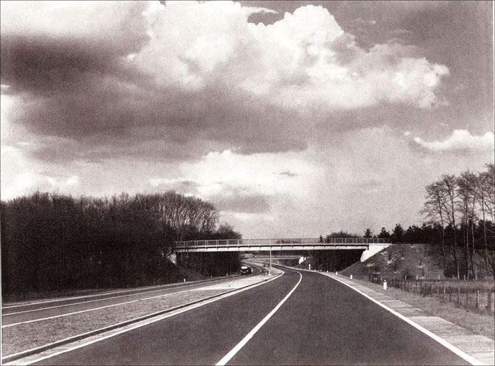 Reichsautobahn im Vest