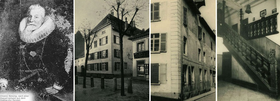 Vinzenz Rensing, Rening'sche Haus, Inneres