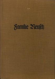 Familienbuch Reusch