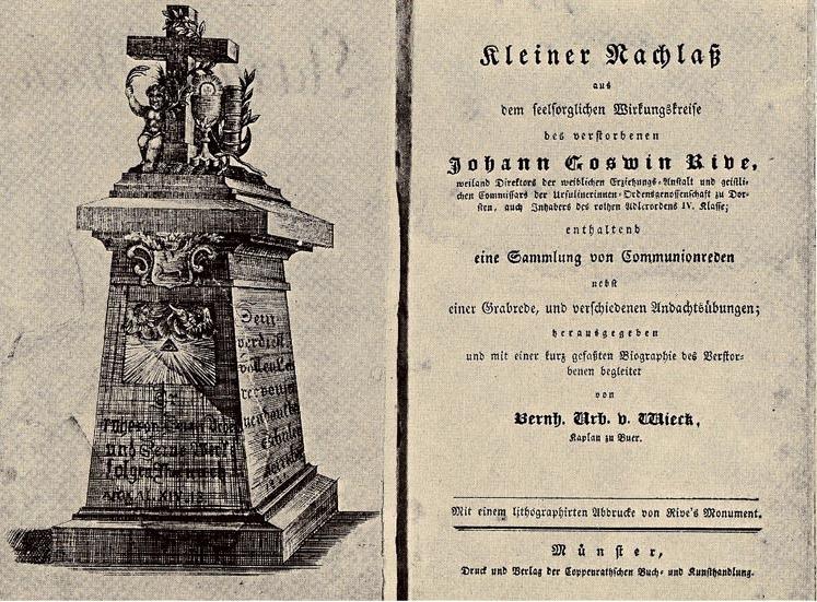 Grabrede Johann Goswin Rive