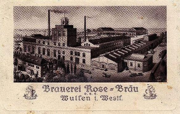 Eose-Brauerei 1913