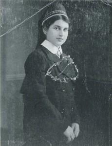 Frieda Rosembaum als jüdische Krankenschwester