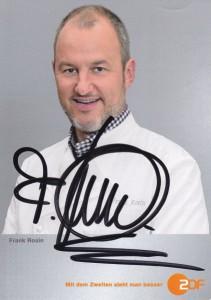 Frank Rosin-Autogrammkarte