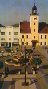 Rybnik Marktplatz mit Rathaus