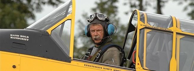 Jürgen Salamon als Pilot