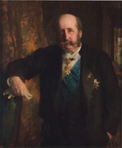 Fürst Leopold zu Salm-Salm; Foto: Archiv Schloss Anholt