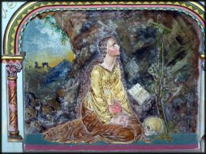 Magdalenenaltar, Gemälde