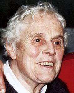 Cordelia, Heinrich Spaemanns Frau, gestorben 2003