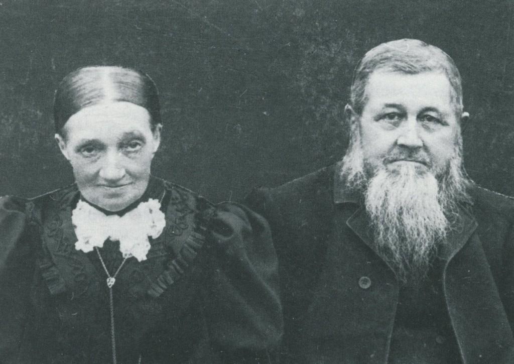 Xaver Spangemacher (1835-1913) mit Frau