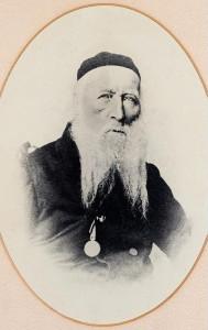 Rabbiner Abraham Sutro 1861