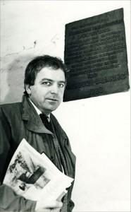 Bernd Schmalhausen in Dorsten 1988; Foto: Holger Steffe