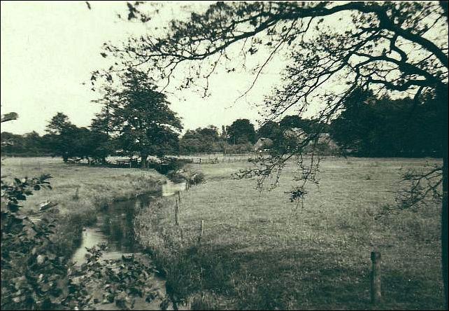 Idyll am Schölzbach 1963