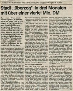 Ruhr Nachrichten vom 11. Mai 1984