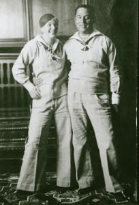 Tisa von der Schulenburg und ihr Mann Fritz Hess in der Schweiz
