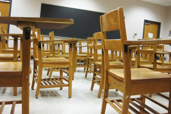 Leere Klassenzimmer (Symbolbild)