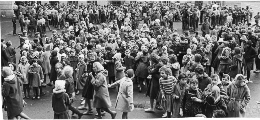 Schulhof 1961