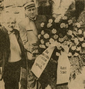 Rudolf Schulz und Frau