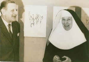 ..... Schulze Vellinghausen und Sr. Paula (Tisa von der Schulenburg)