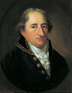 Freiherr vom Stein; Gemälde von Johann Chr. Rinklage (NRW-Stiftung)