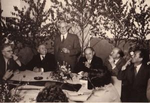 Amtsvertretung 1953 mit Brauckhoff / Knauer