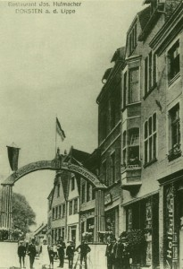 Stadtschänke in der Essener Straße (später Bücker, zuletzt Hummel's)