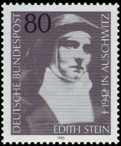 Edith Stein, Briefmarke 1983