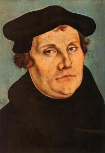 Martin Luther, Gemälde von Lukas Cranach d. Ä. ,