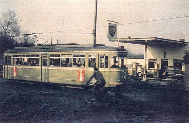1958 auf der Bochumer Straße in Dorsten