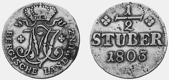 Avers und Revers, 1803