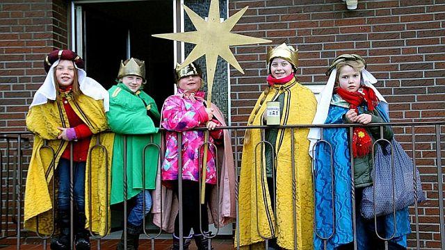 Die kleinen Sternsinger-Könige