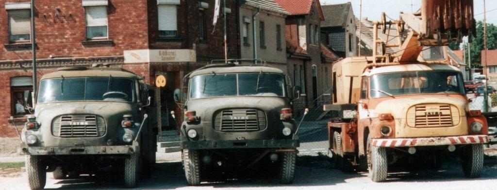 Tatra-Fahrzeuge; Foto: I. Bein