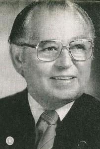 Hubert Tempelmann sen. (Zeitungsbild)