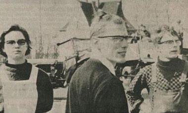 Werner Thissen als Kaplan in Dorsten