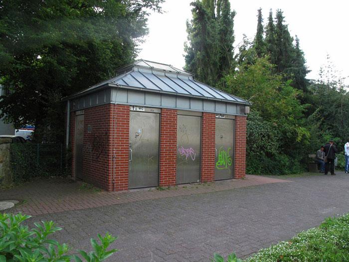 Einzige öffentlicher Toilette in Dorsten