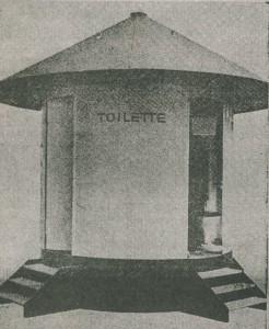Früherer Toilettenpilz am alten Busbahnhof