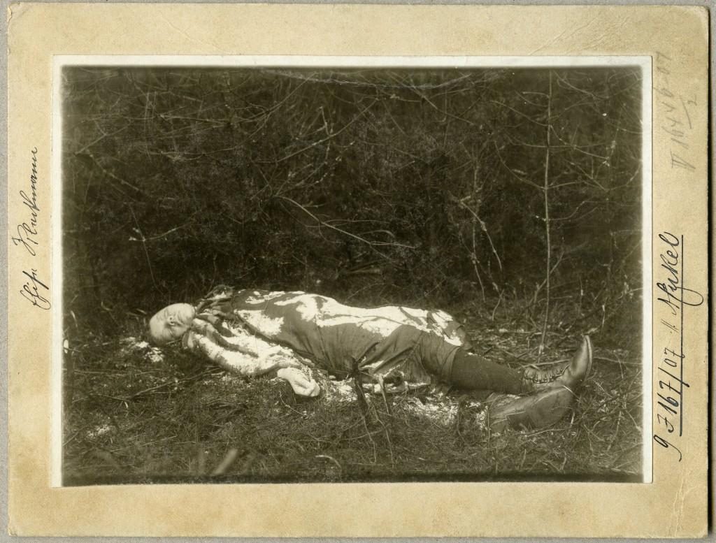 Leiche des Mädchens Bleckmann