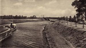 Dampfschifffahrt auf dem Kanal