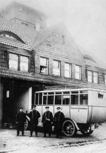Früheres Personen-Transportmittel
