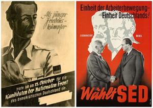Wahlplakate in der DDR