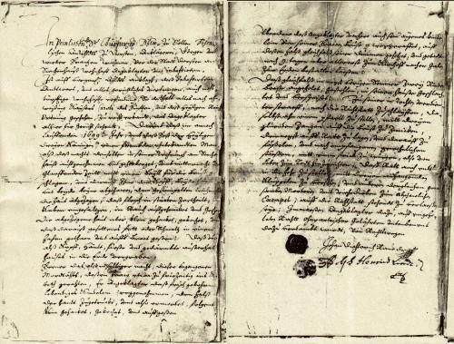 Das Urteil aus dem Jahr 1699