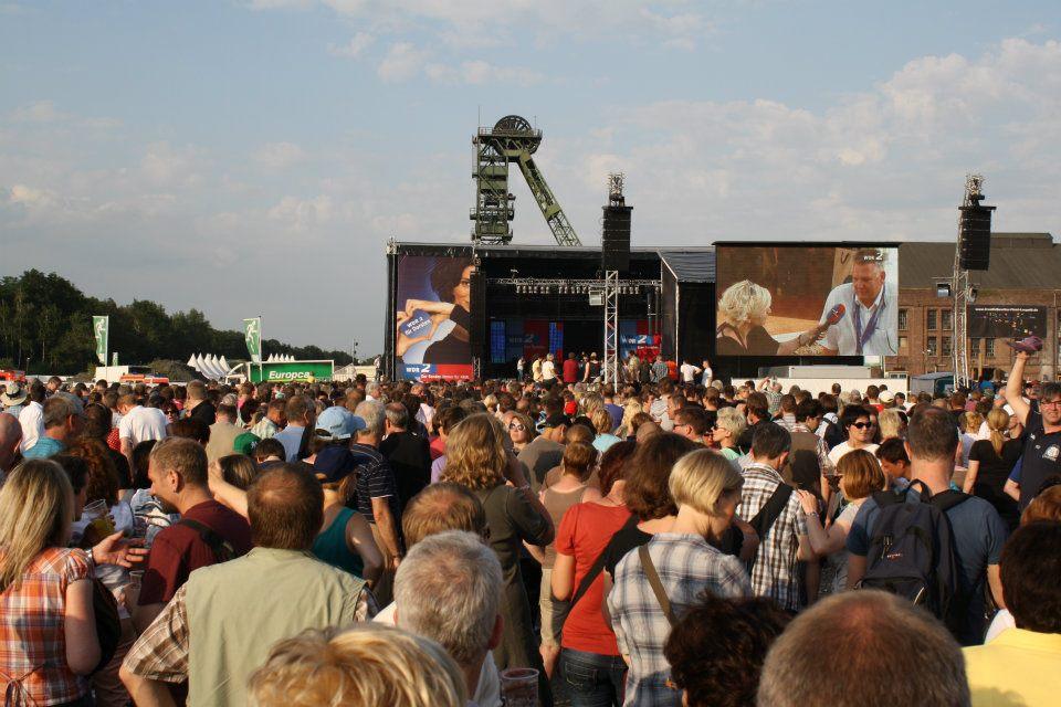 WDR 2-Bühne auf dem Zechengelände