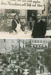 Weinfest auf dem Markt 1935