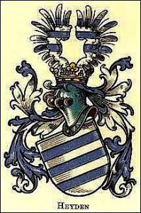 Wappen der Familie von Heyden