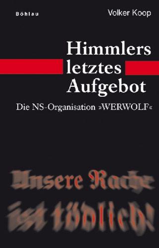 Buchtitel über den NS-Werwolf