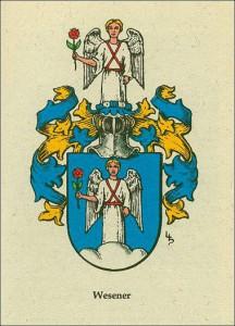 Wappen der Familie Wesener