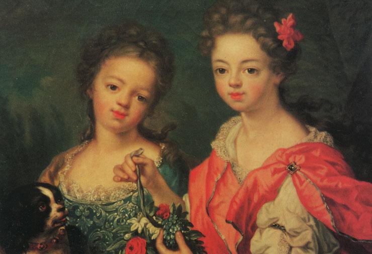 Zwei Schwestern der Familie von Westerholt