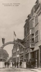 Stadtschänke in der Essener Straße (später Bücker)