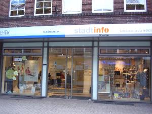 Stadt-Info in der Recklinghäuser Straße; Foto: Website der Stadt