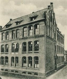 Gymnasium Petrinum an der Klosterstraße 1910